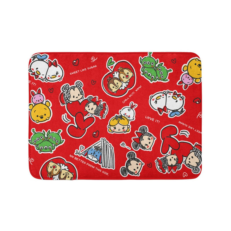 Disney Tsum Tsum Memory Foam Bath Mat (Love A Lot)