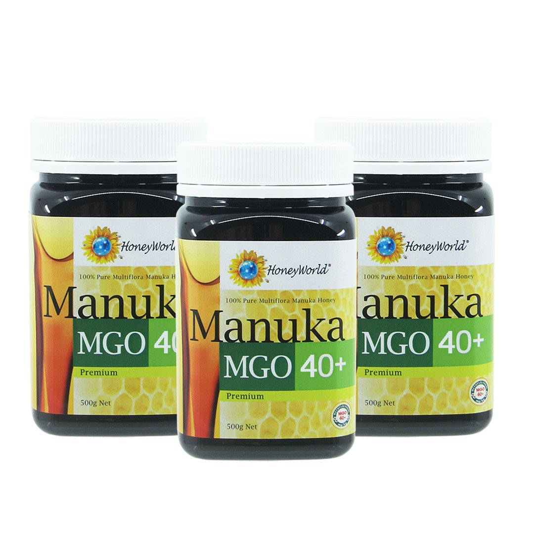 Manuka MGO 40+ 500g Bundle of 3