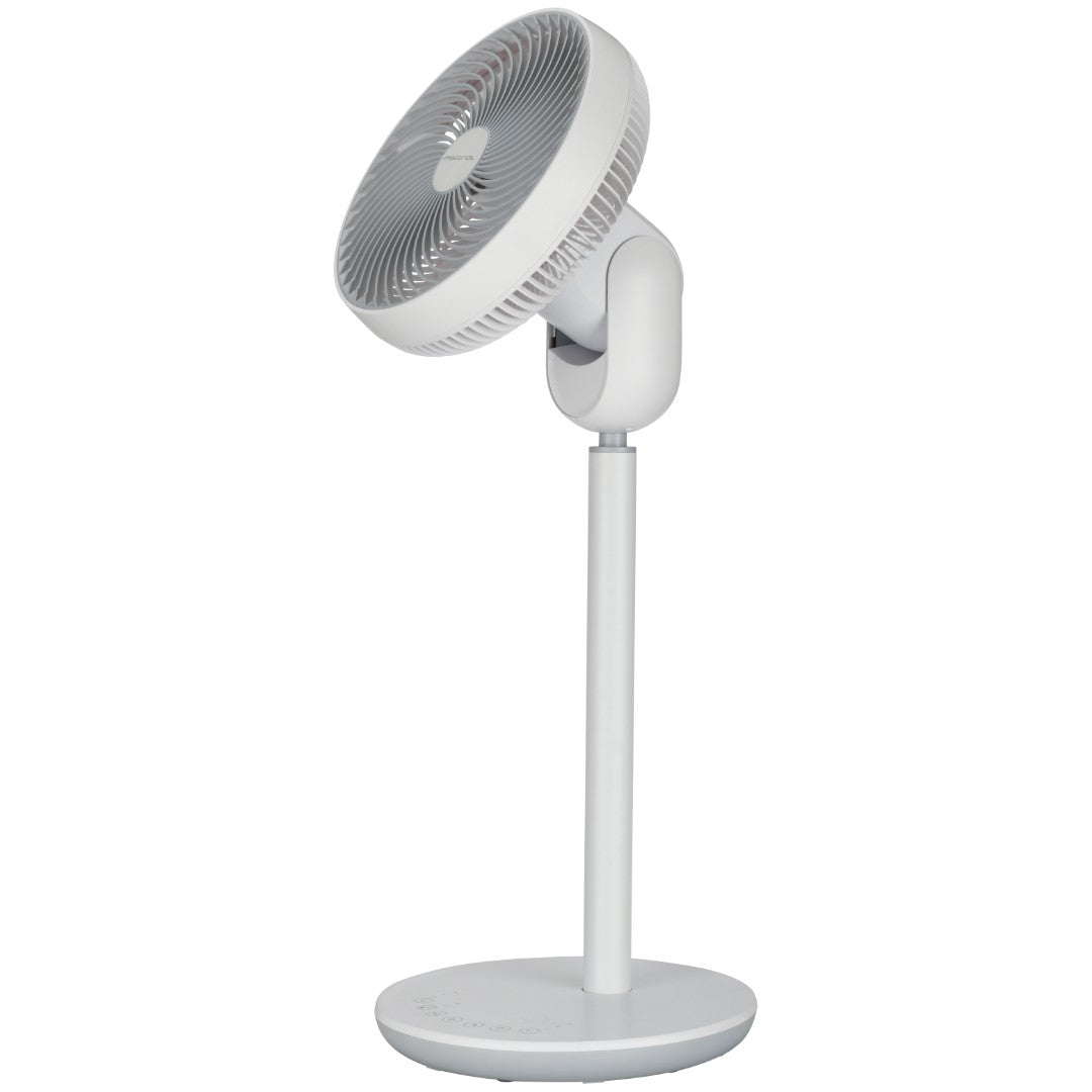 Mimica 10'' High Velocity Stand Fan with Remote (White)