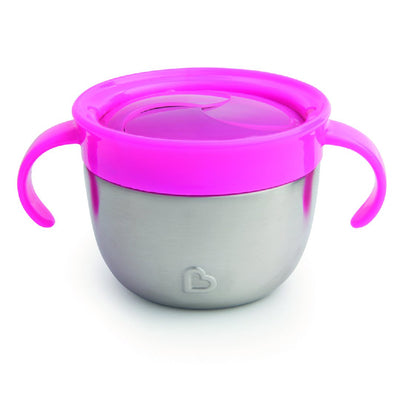 Stainless Stain Snack Catcher (Pink)