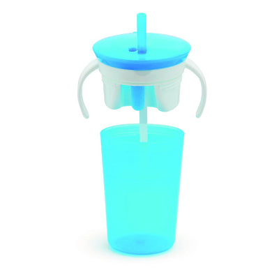 Snack Catcher + Sip Cup (Blue)