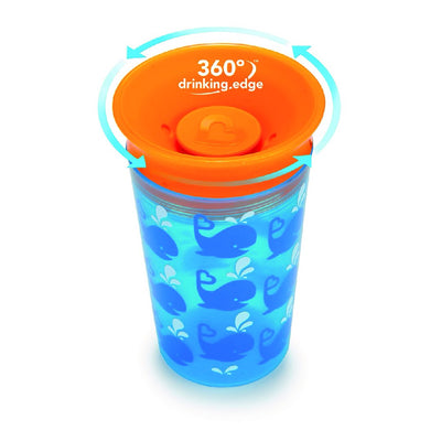 9oz Deco Miracle Sippy Cup (Orange)