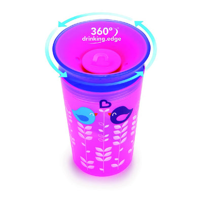9oz Deco Miracle Sippy Cup (Purple)