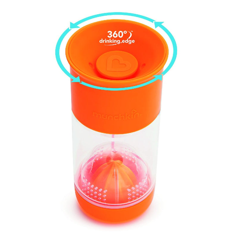 14oz Miracle CL Fruit Infuser (Orange)