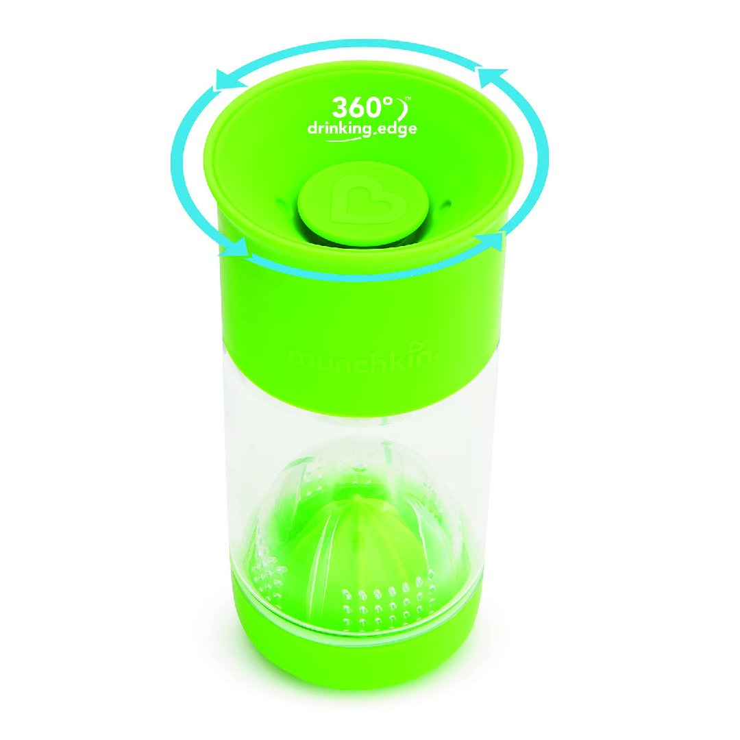 14oz Miracle CL Fruit Infuser (Green)