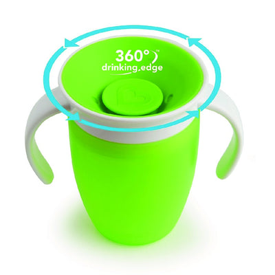 7oz Miracle 360 Trainer Cup (Green)