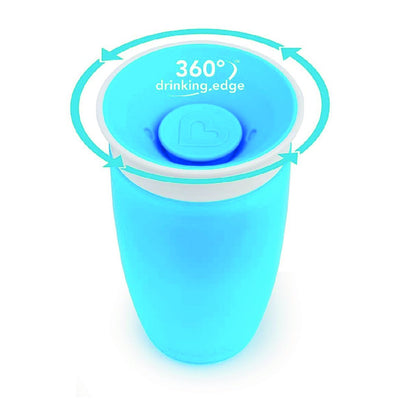 10oz Miracle 360 Trainer Cup (Blue)