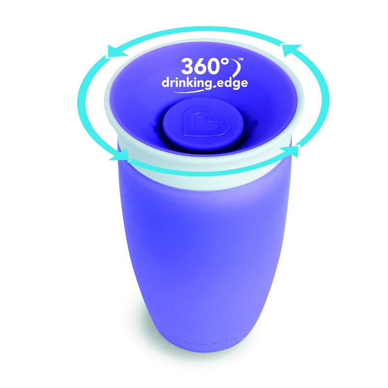 10oz Miracle 360 Trainer Cup (Purple)
