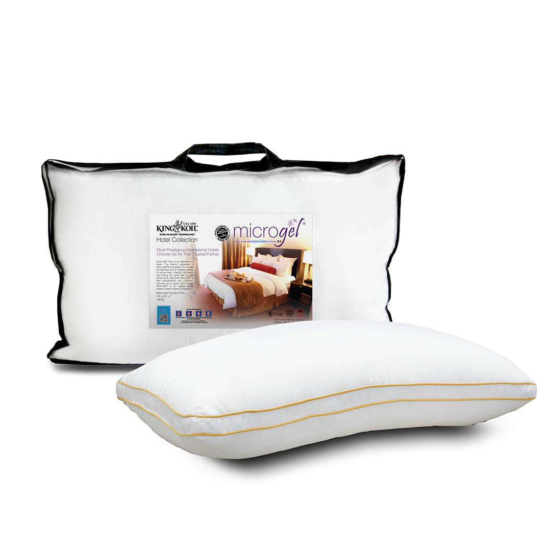 Microgel Comfort Firm Pillow