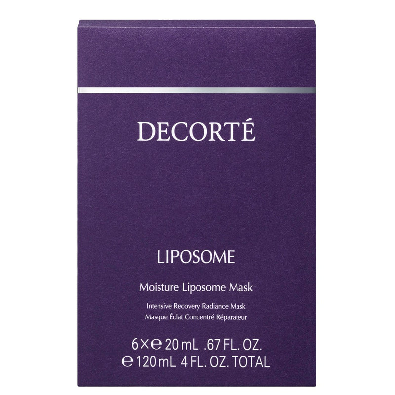 Moisture Liposome Mask (6 sheets)