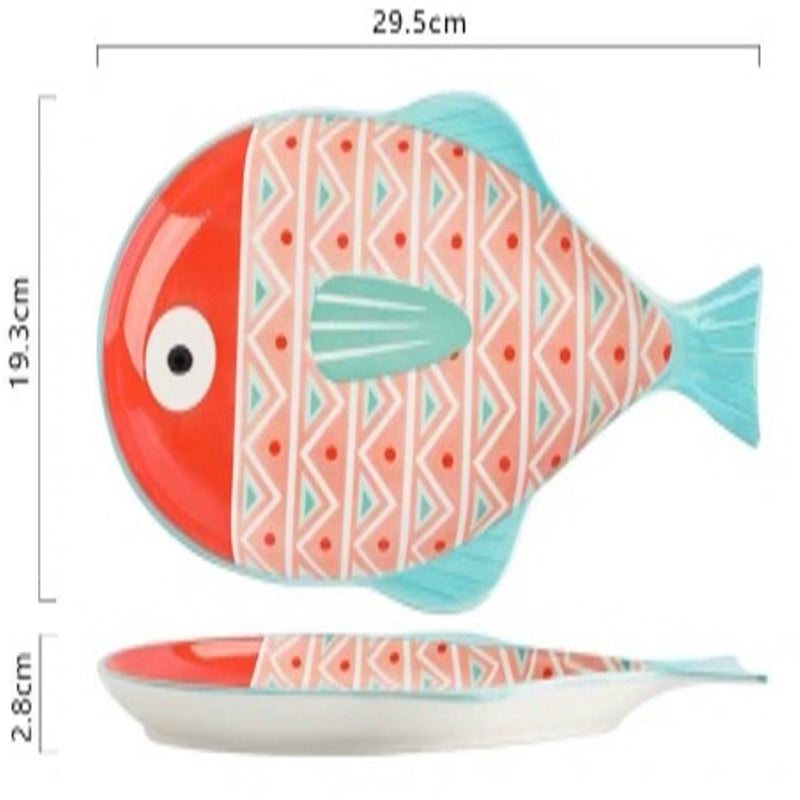 Plate 11.5 inch (Pufferfish Pink)