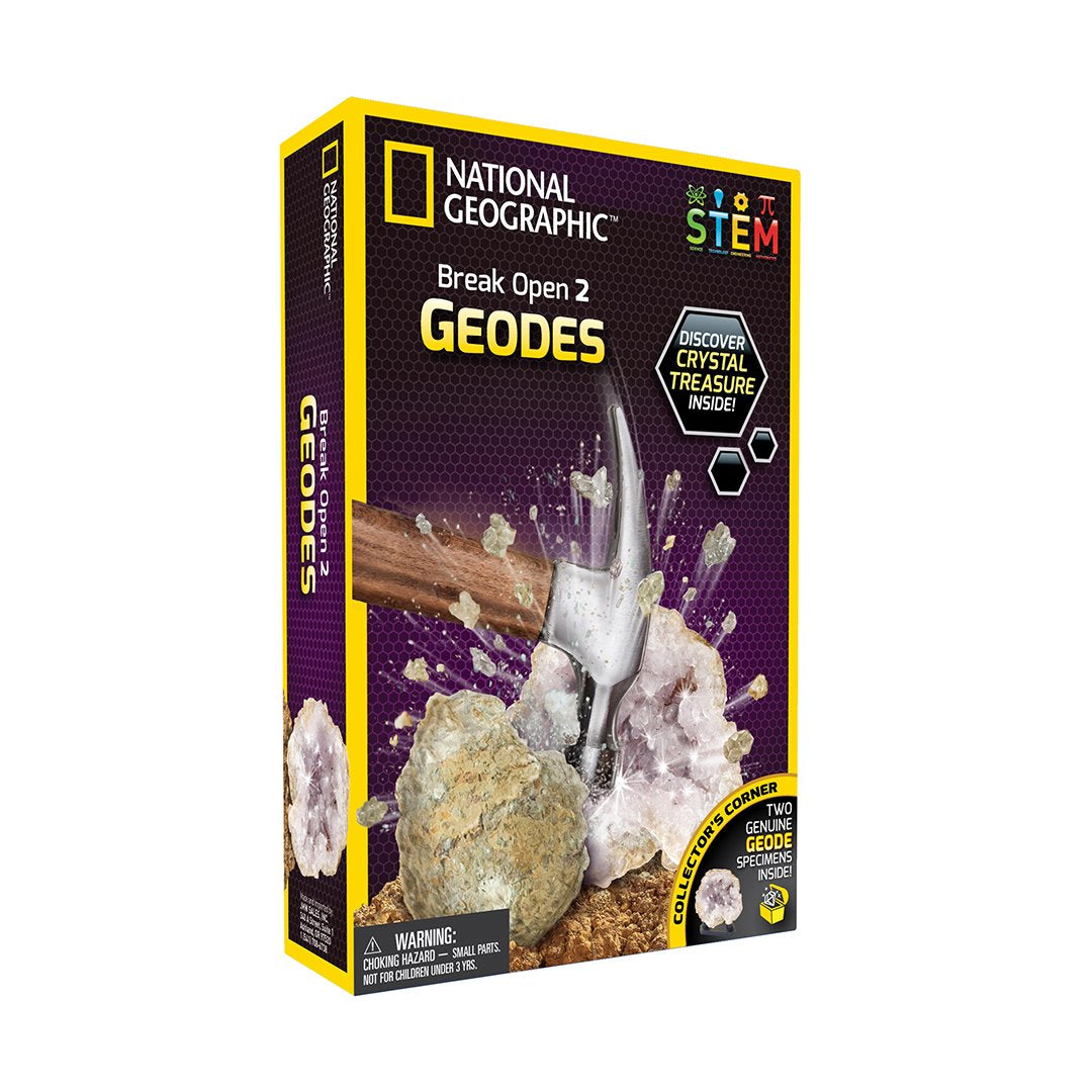 Break Open 2 Real Geodes