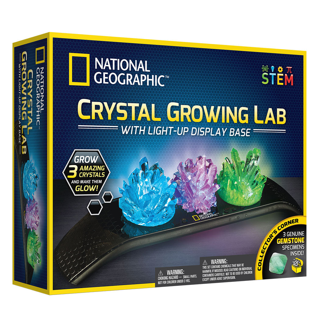 Light Up Crystal Growing Kit