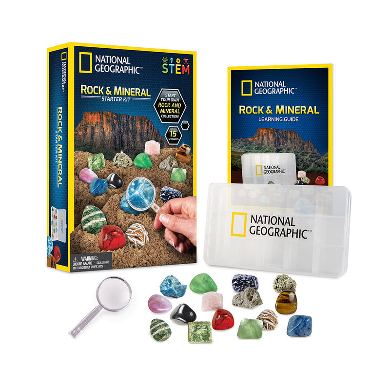 Rock and Mineral Starter Kit