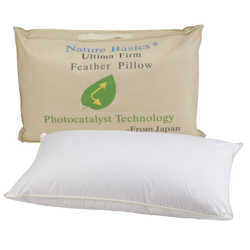 Ultima Firm Feather Pillow