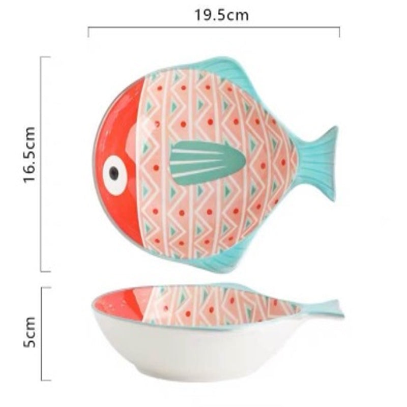 Bowl 8 inch (Pufferfish Pink)