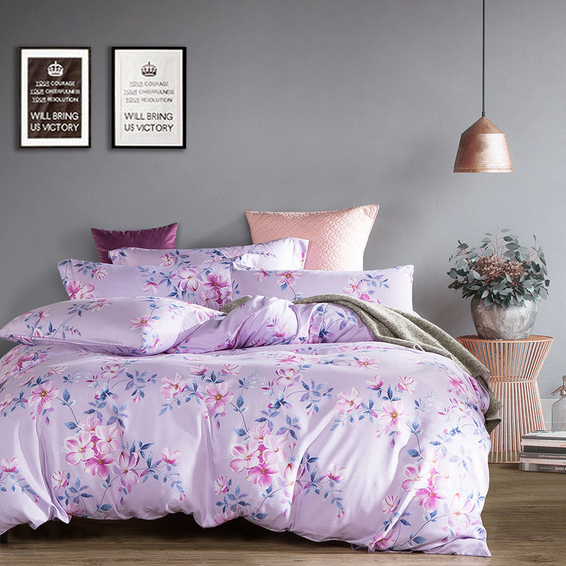 Luxe Living 900TC Tencel Printed Bed Set (Ophelia)