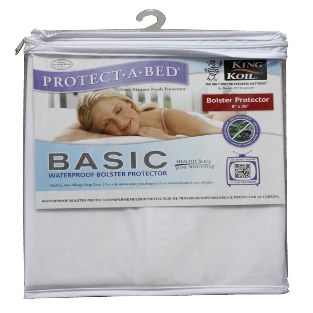 Protect-A-Bed Basic Waterproof Bolster Protector