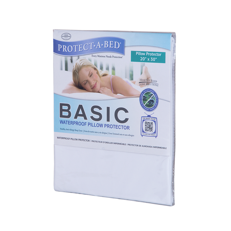 Protect-A-Bed Basic Waterproof Pillow Protector