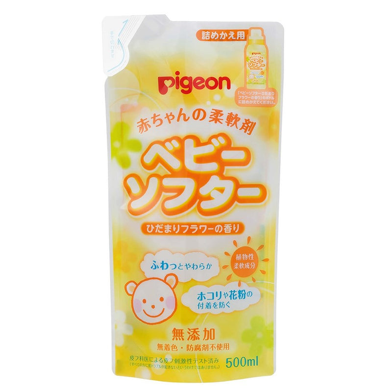 Baby Laundry Softener Scented 500ml Refill (Jp)