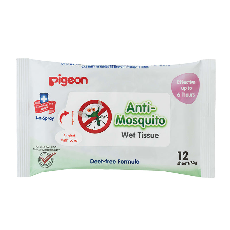 Anti Mosquito Wet Tissue 12S