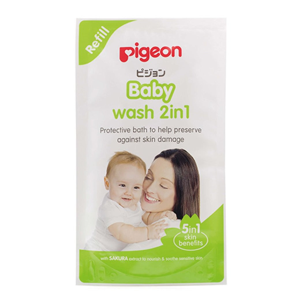 Baby Wash 2-in-1 Sakura 900ml Refill