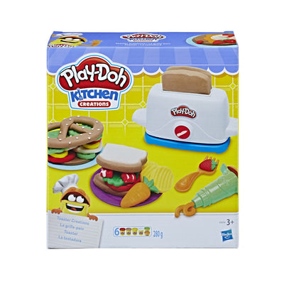 Play-Doh Kitchen Creations Toaster Creations Sandwich Play Food Set