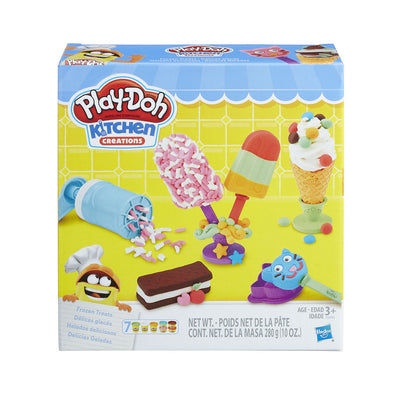 Play-Doh Kitchen Creations Frozen Treats Toy Ice Ceam Set