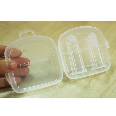 Finger Toothbrush & Gum Massager Set