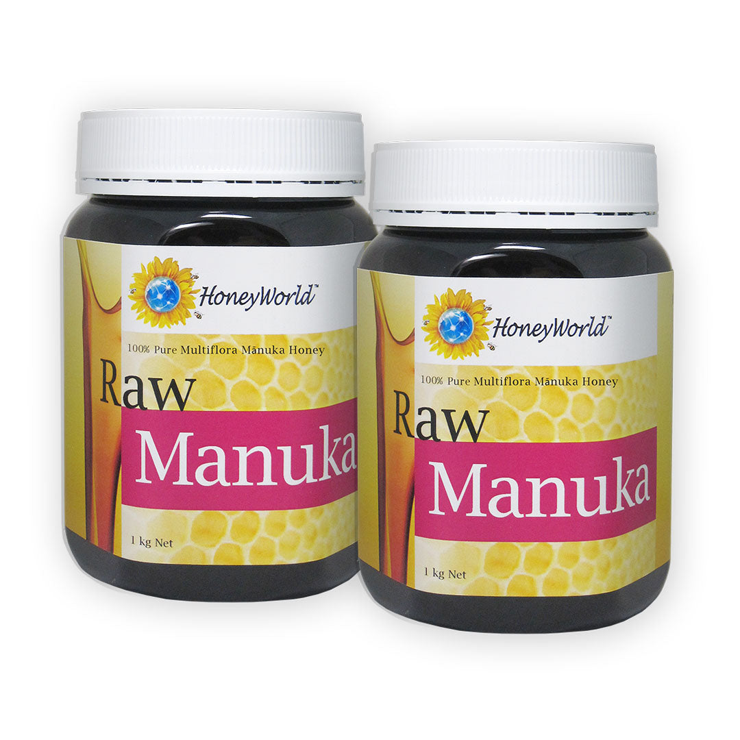 (Bundle of 2) Raw Manuka 1kg
