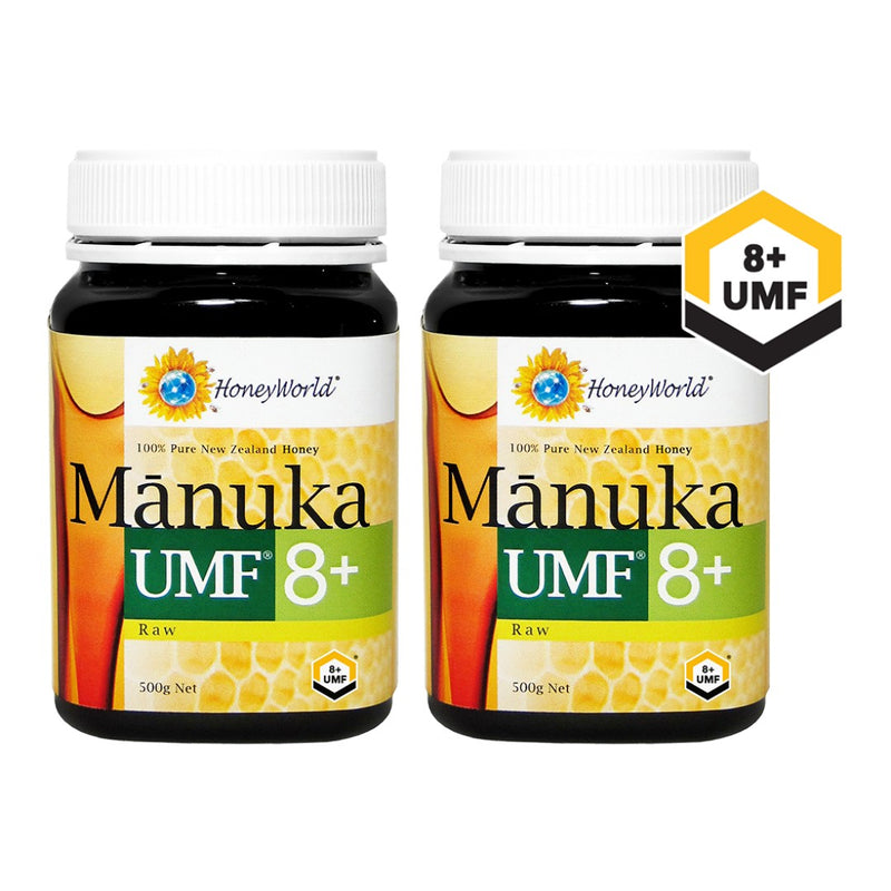 (Bundle of 2) Raw Manuka UMF 8+ 500g