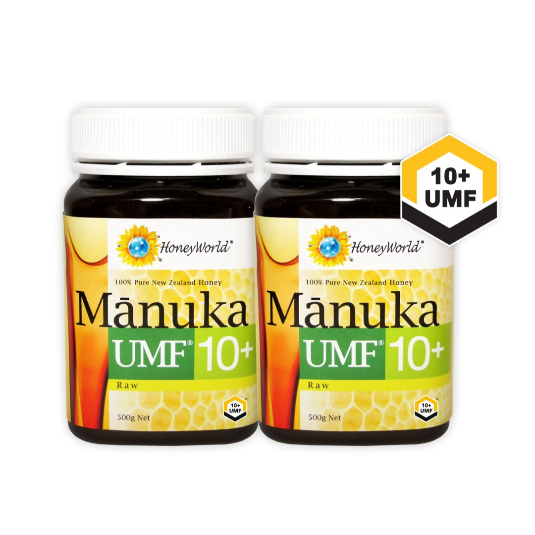 (Bundle of 2) Raw Manuka UMF10+ 500g