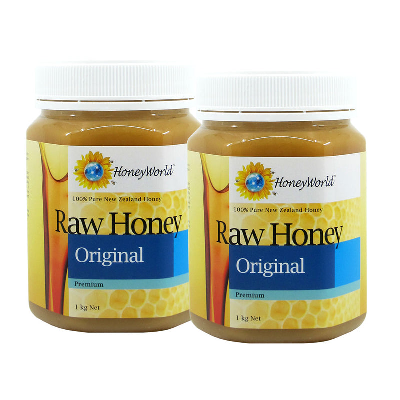 (Bundle of 2) Raw Honey 1kg
