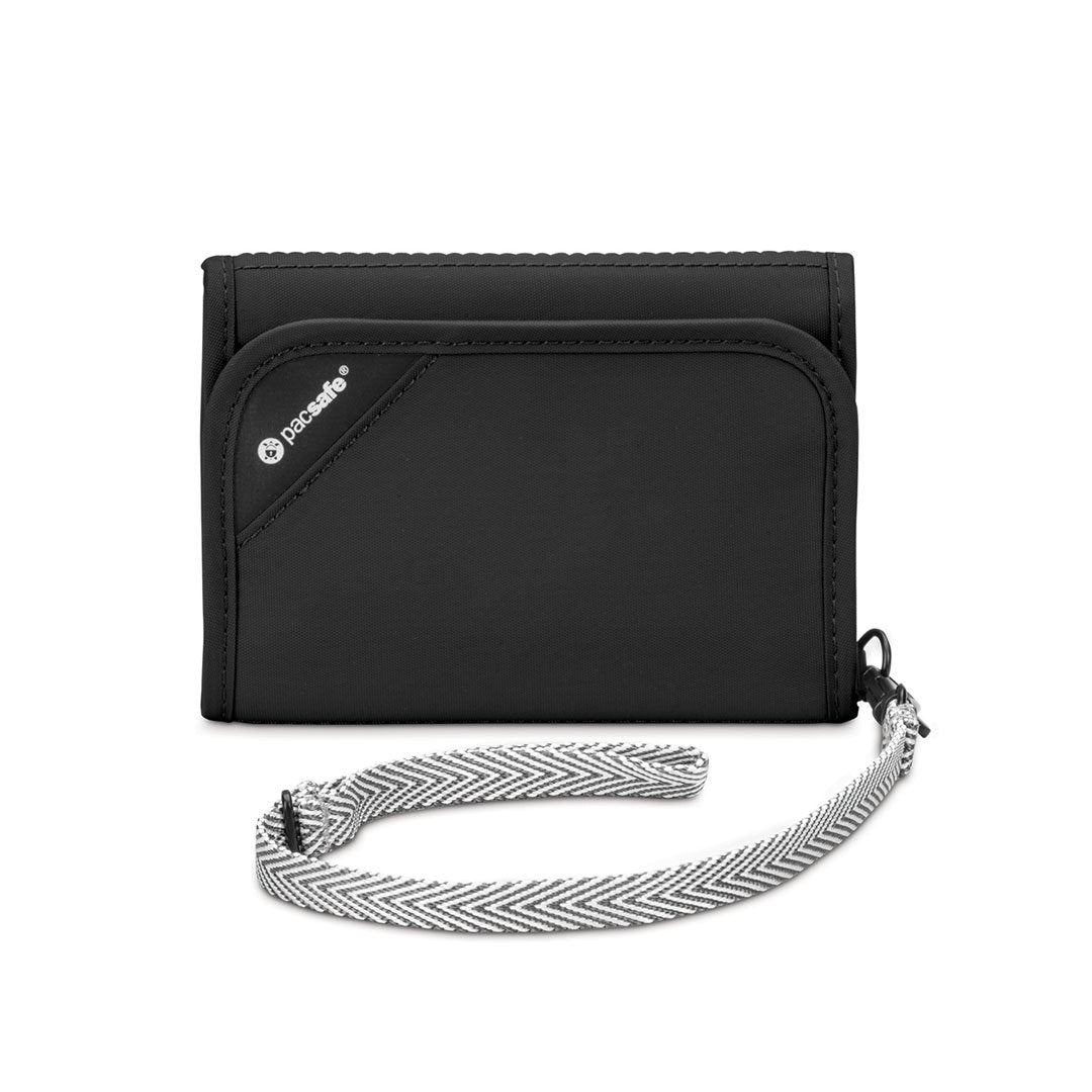 Rfidsafe V125 Tri-Fold Wallet (Black)