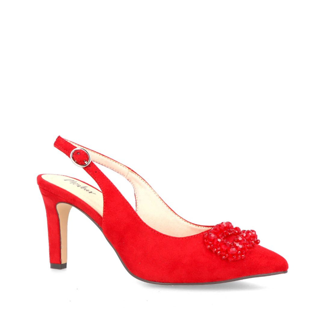 Antronapiana Slingback Pumps (Red)