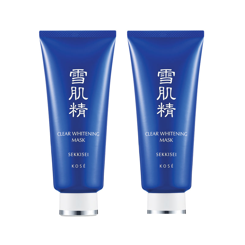 SEKKISEI Clear Whitening Mask Duo