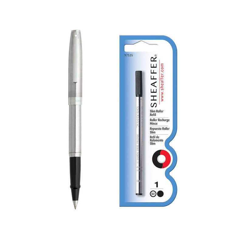 Sagaris Rollerball Pen Chrome + Refill