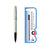 Sagaris Rollerball Pen Chrome with Gold + Refill