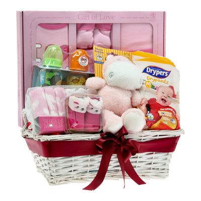 6pc Baby Hamper (For Girls)