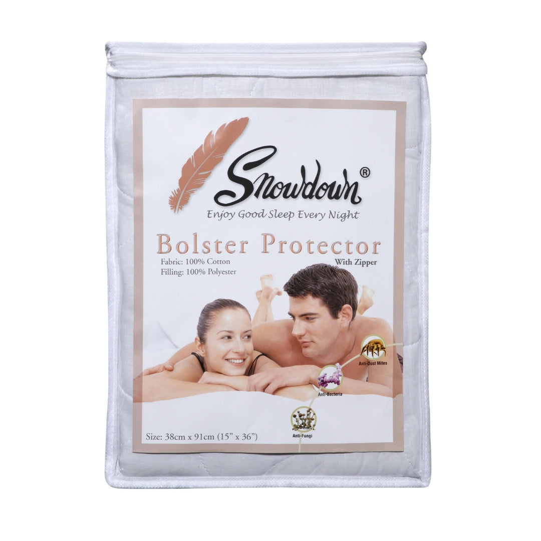 100% Cotton Bolster protector