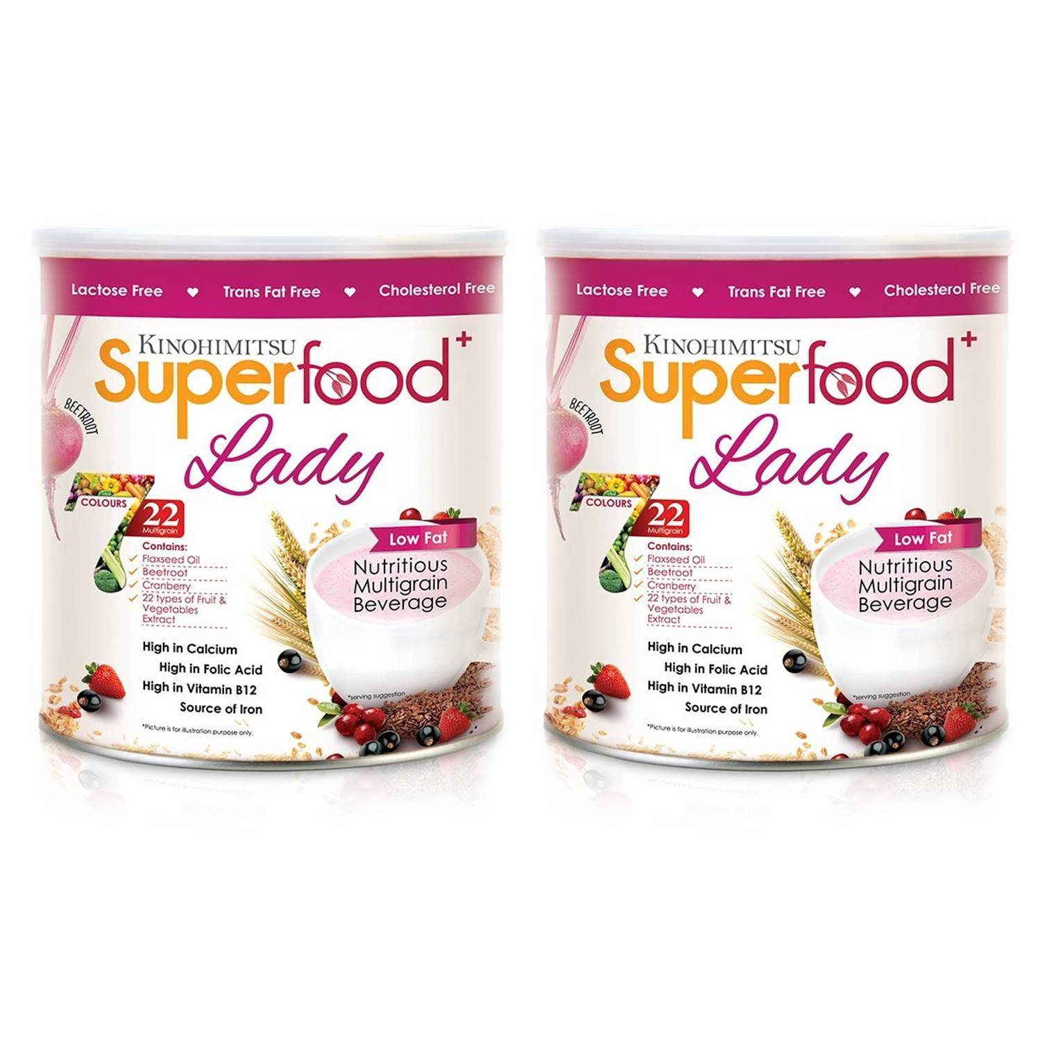 (Bundle of 2) Superfood+ Lady 500g
