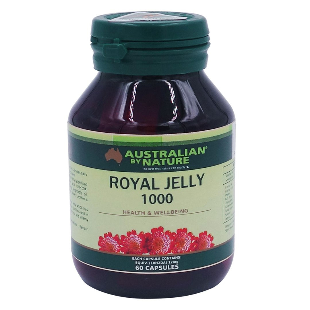 Australian By Nature Royal Jelly Capsules 60's
