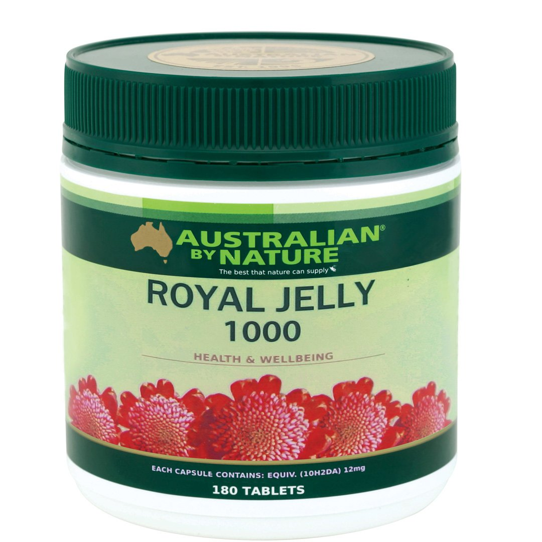 Australian By Nature Royal Jelly Capsules 180's