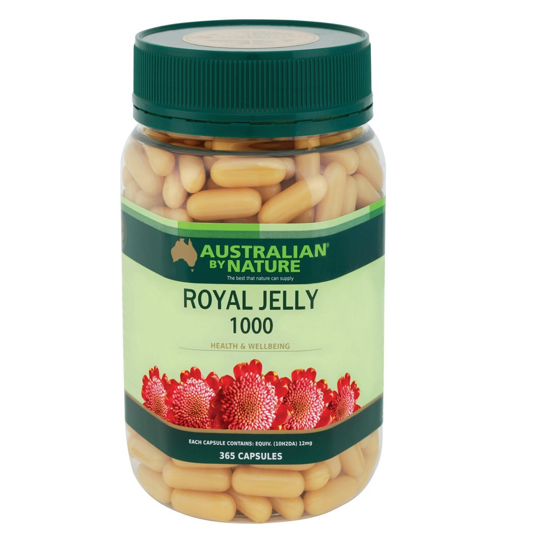 Australian By Nature Royal Jelly Capsules 365's