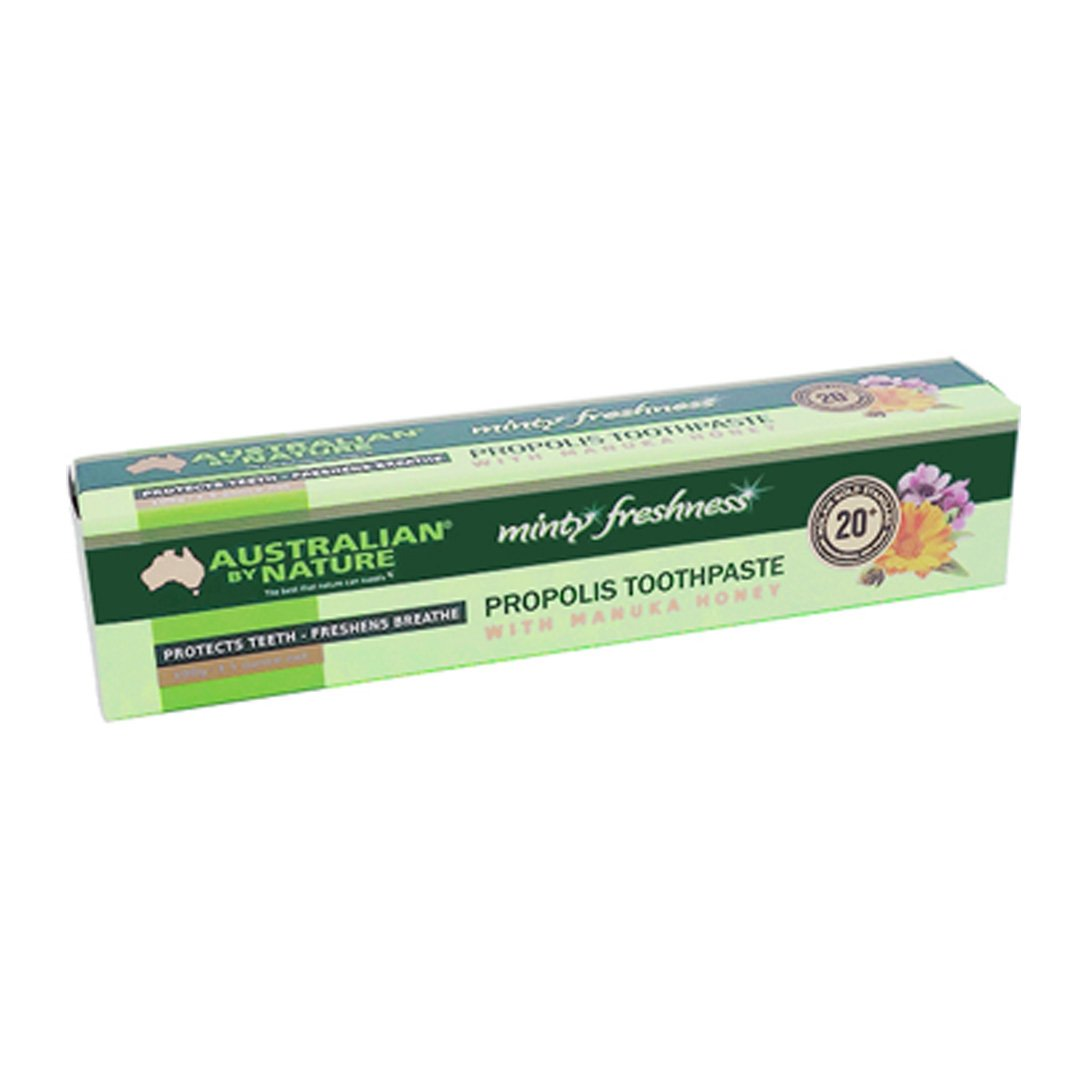 Australian By Nature Propolis & Manuka Honey 20+ Toothpaste 10g