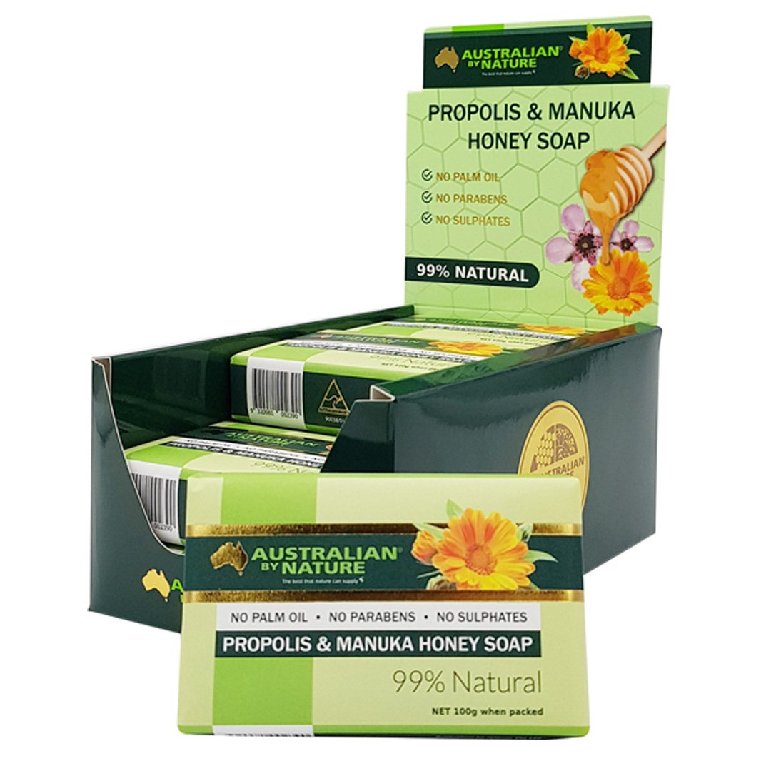 Australian By Nature Propolis Honey Soap 100g