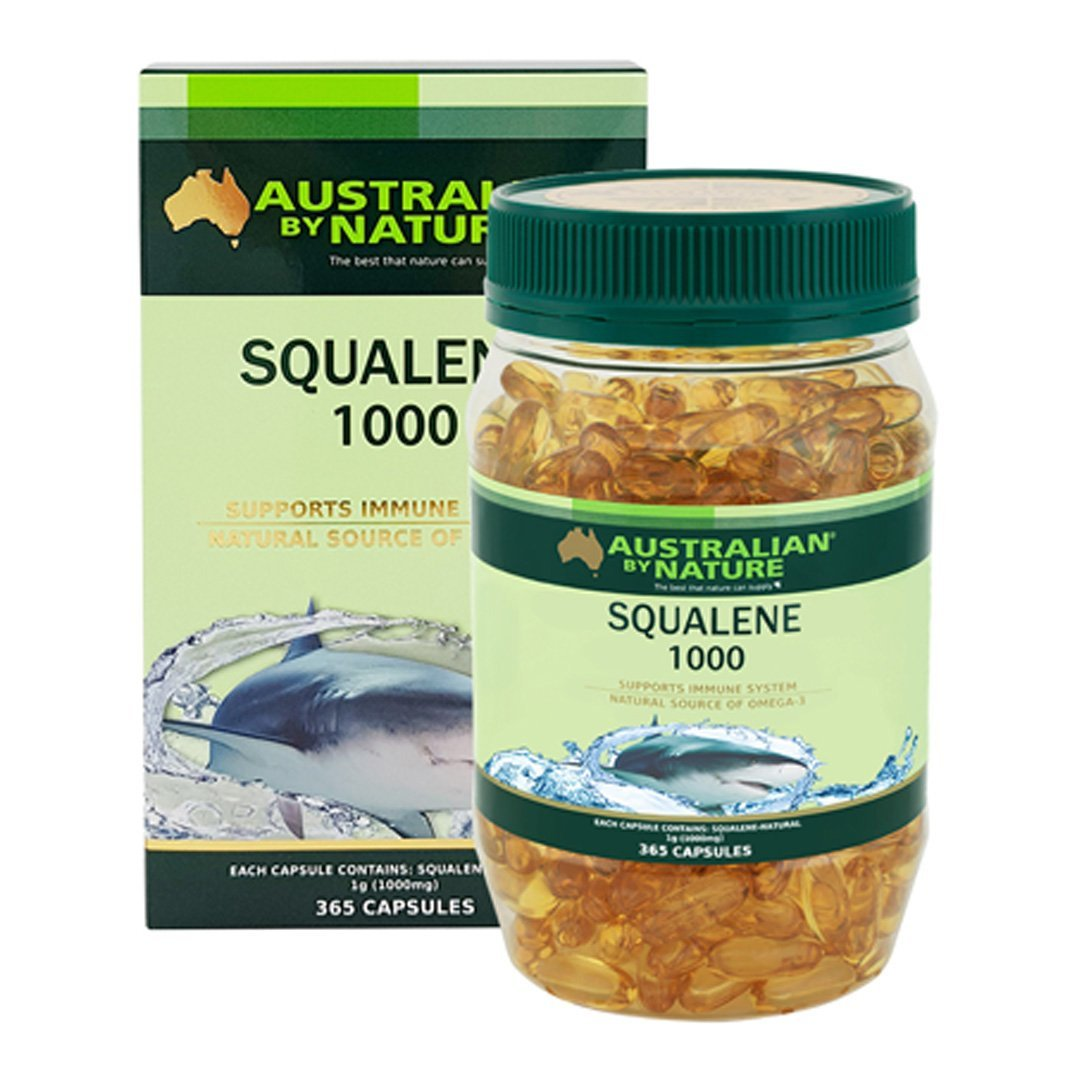 Australian By Nature Squalene 1000mg 365's