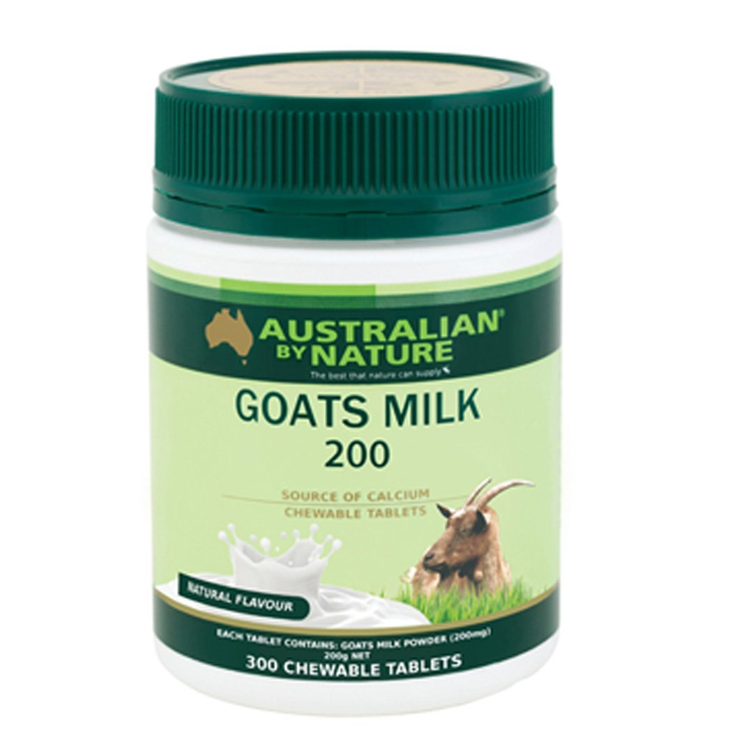 Australian By Nature Goats Milk 200mg (Nature Flavour) 300's