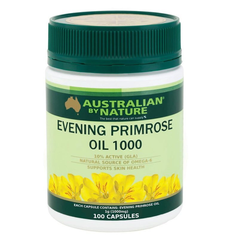 Australian By Nature Evening Primose Oil 1000mg 100's