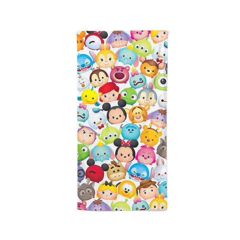 Disney Tsum Tsum 100% Cotton Bath Towel (Tsum Party)